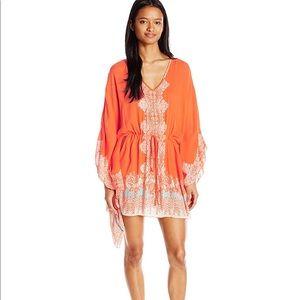 Angie Coral Tunic Dress